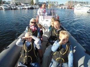 Rodzinny rejs motorówką RIB Zatoka Gdańska