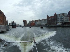 Przejażdżka motorówką Gdańsk Stare Miasto