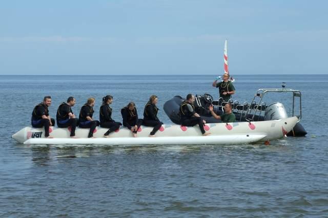 Imprezy na wodzie - motoróka RIB