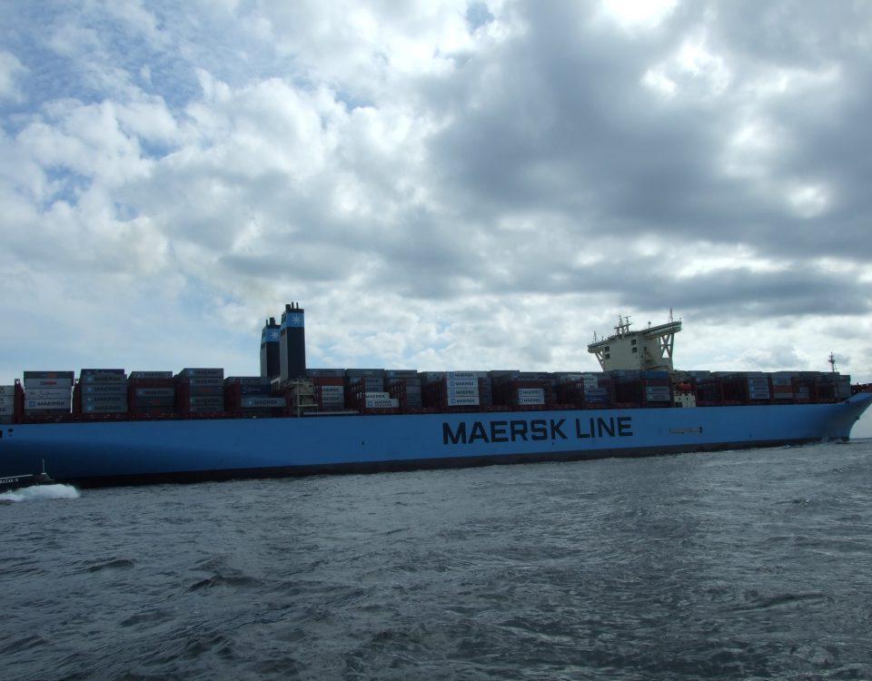 rejs z Gdyni i kontenerowiec