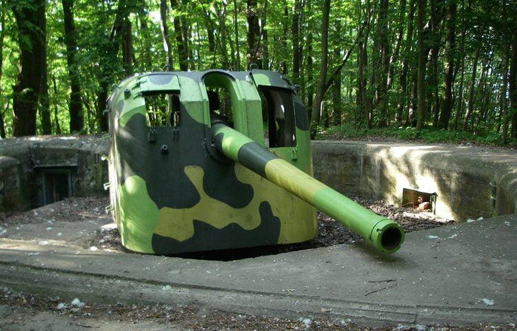 Działo baterii Redłowskiej BAS11